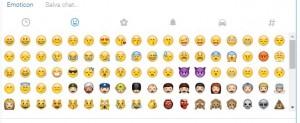 lista emoji